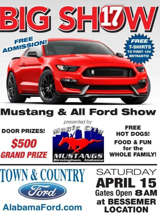 Magic City Mustangs - Car show birmingham al